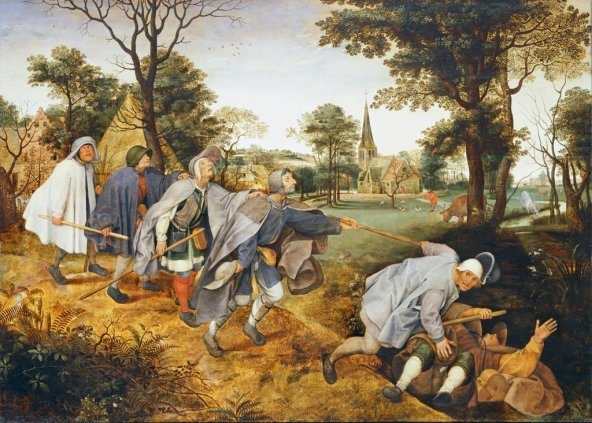The Parable of the Blind, by P. Brueghel