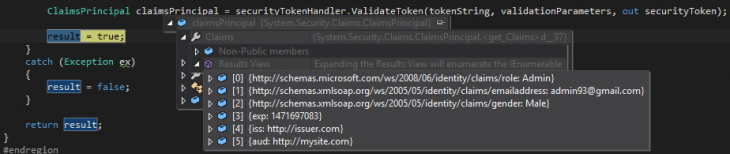 user authentication in ASP.NET API 2