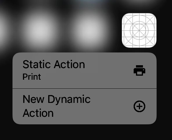 Dynamic Quick Actions in iOS