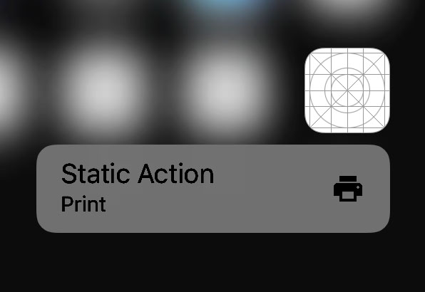 swift 3d touch quick actions